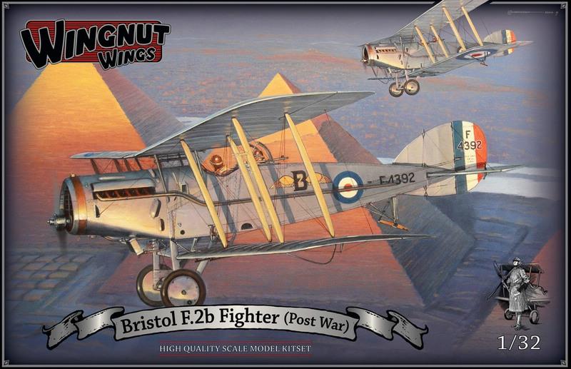 WingNutWings-Bristol-F2B-Fighter-postwar Wing Nut Wings - neue 1:32er Bausätze und Bücher