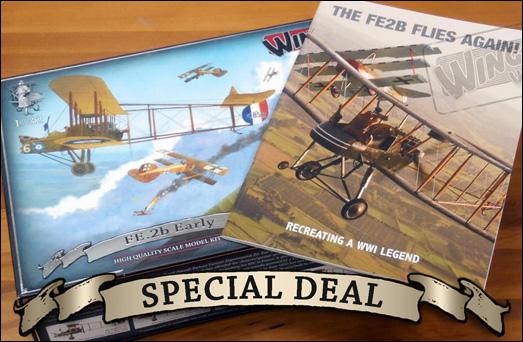 WingNutWings-FE-2B-special-deal Wing Nut Wings - neue 1:32er Bausätze und Bücher