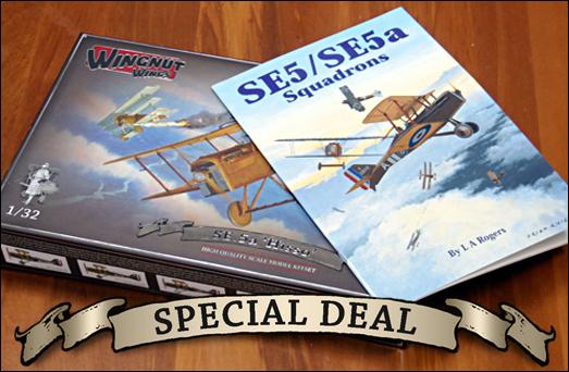 WingnutWings-SE-5a-special-deal Wing Nut Wings - neue 1:32er Bausätze und Bücher