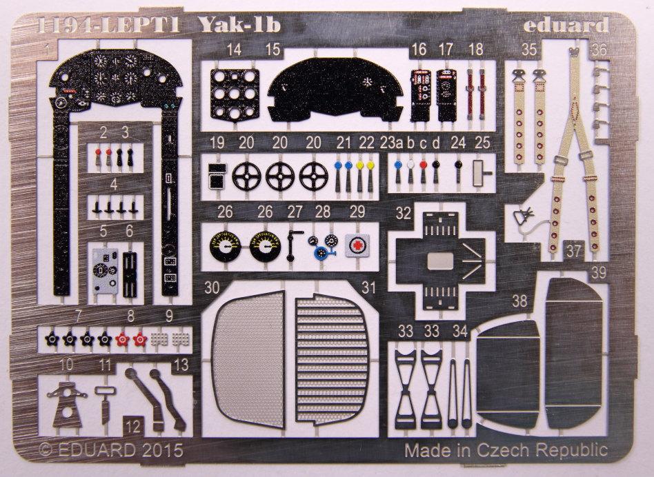 Yak-1b_03 Yak-1b - 1/48 von Eduard - Limited Edition #1194