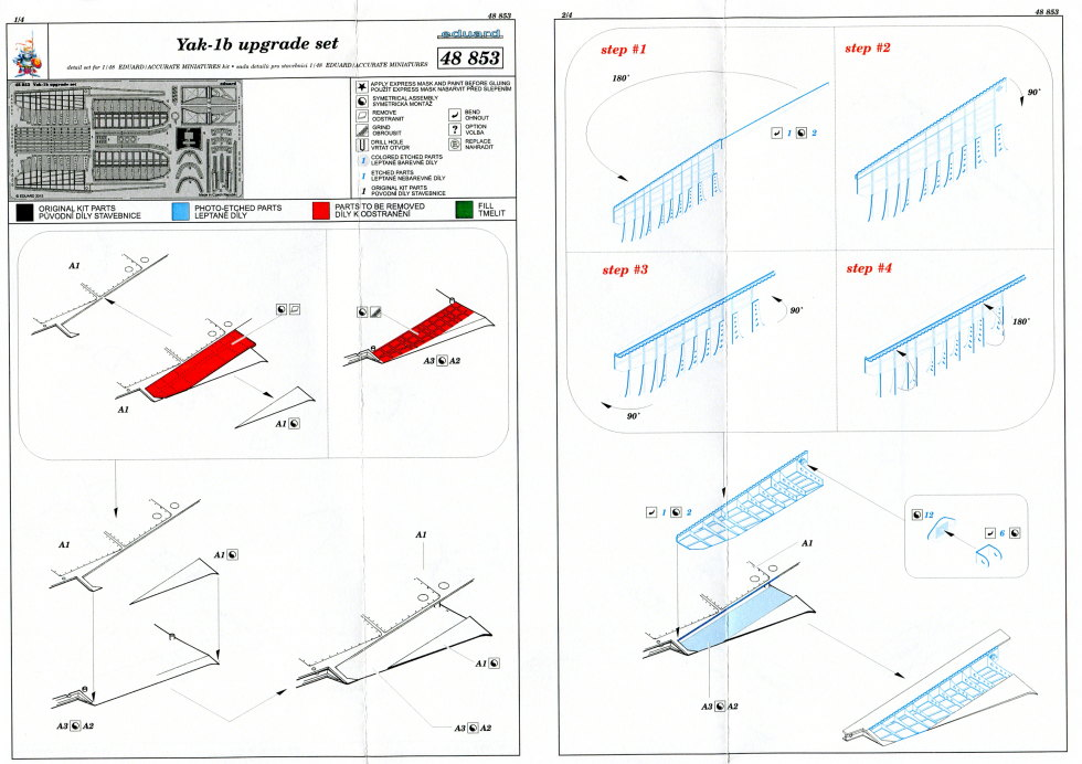 Yak-1b_16 Yak-1b Upgrade Set - 1/48 von Eduard #48853
