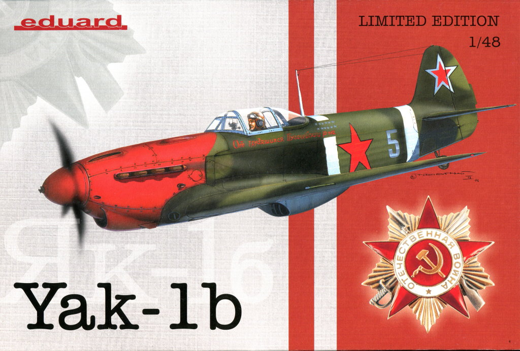 Yak-1b_18 Yak-1b - 1/48 von Eduard - Limited Edition #1194