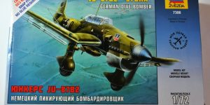 """Die Junkers Ju 87 """"Stuka"""" von Zvezda – anfängertauglich!"""