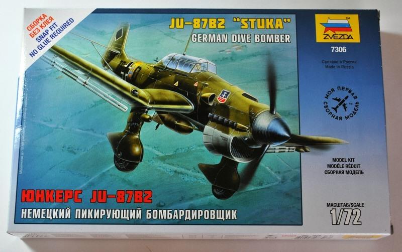 "Zvezda-Ju-87-Stuka-30 Die Junkers Ju 87 ""Stuka"" von Zvezda - anfängertauglich!"