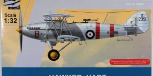 Hawker Hart – 1:32 von Silver Wings
