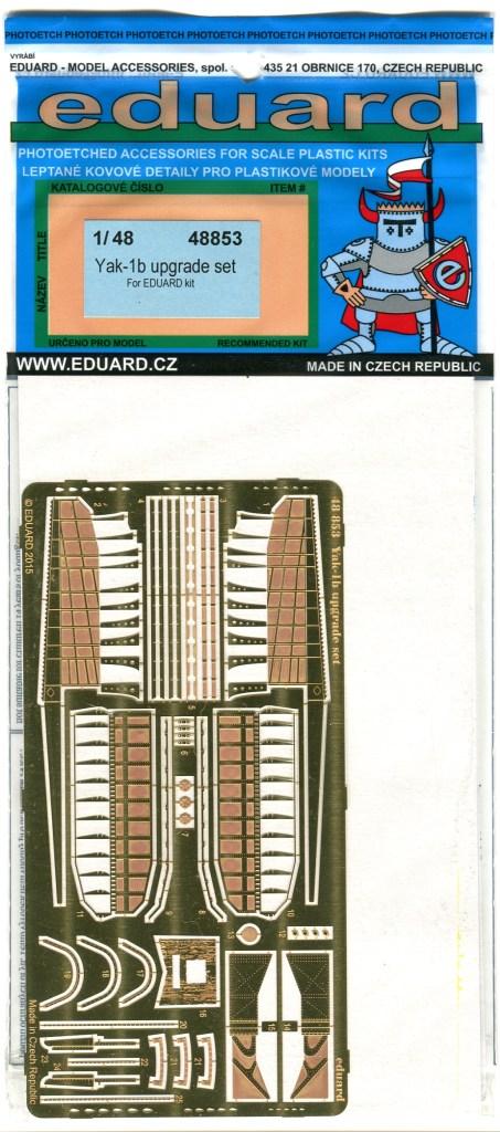 scan024 Yak-1b Upgrade Set - 1/48 von Eduard #48853
