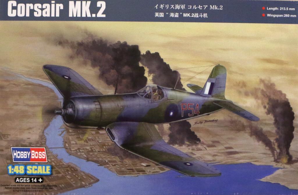 0 Britischer Korsar der Lüfte - Vought Corsair MK.2 1:48 Hobby Boss 80395