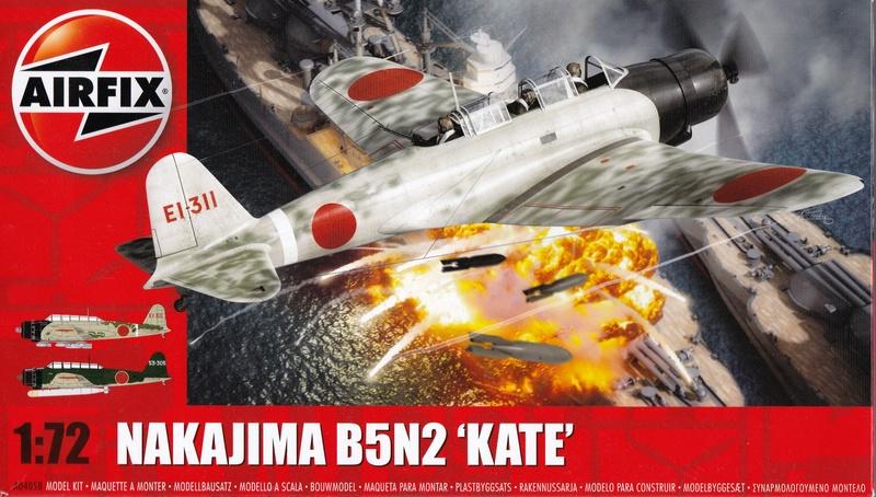 """Airfix-Nakajima-B5N-Kate-Decklbild Nakajima B5N2 """"Kate"""" von Airfix (1:72)"""