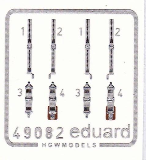 Eduard-49081-Seatbelts-Luftwaffe-Fighters-WW-II-2 Seatbelts Luftwaffe Fighters (Eduard 1:48)