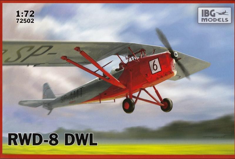 IBG-RWD-8-DWL-13 polnischer Trainer RWD-8 DWL von IBG im Maßstab 1:72