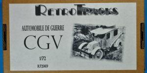 Retrokit Automobile de guerre CGV (1:72)