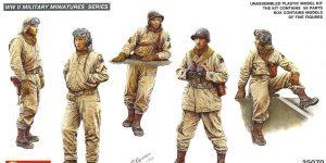 Miniart U.S. Tank Crew NW Europe 1:35 (35070)