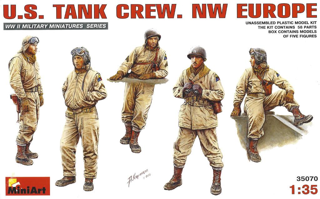 Boxart Miniart U.S. Tank Crew NW Europe 1:35 (35070)