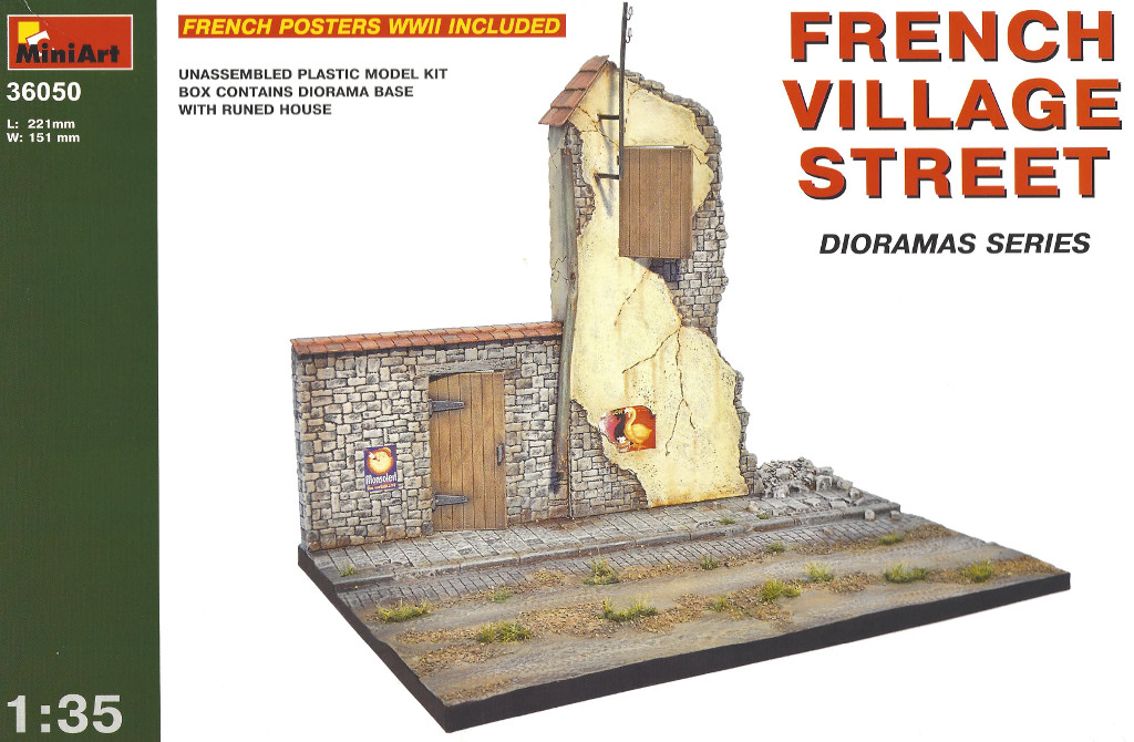 Boxart1 Miniart French Village Street 1:35 (36050)
