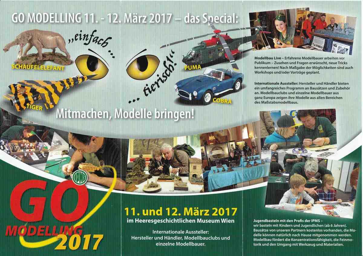 GO-Modelling-2017-5 Go Modelling am 12./13. März in Wien