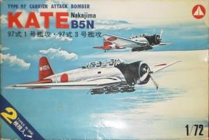 """Mania-B5N-Kate-300x201 Nakajima B5N2 """"Kate"""" von Airfix (1:72)"""