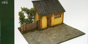 MiniArt – Diorama with Barn – 1/35 — #36032