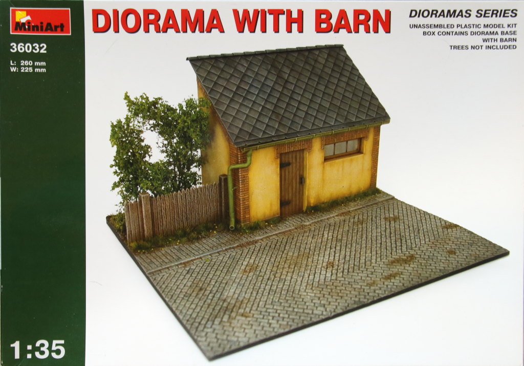 Miniart_Dio_Barn_12 MiniArt - Diorama with Barn - 1/35 --- #36032