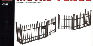 MiniArt – Metal Fence – 1/35 — #35549