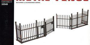 MiniArt – Metal Fence – 1/35 — #35549