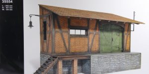 MiniArt – Goods Shed – 1/35 — #35554
