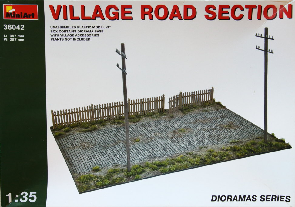 Miniart_Road_Section_08 MiniArt - Village Road Section - 1/35 --- #36042