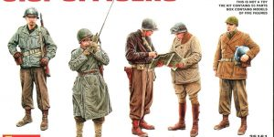MiniArt – U.S. Officers – 1/35 — #35161