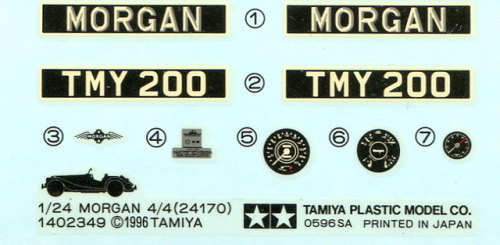 Morgan_4x4_22 Tamiya - Morgan 4/4 - 1/24 --- #24170