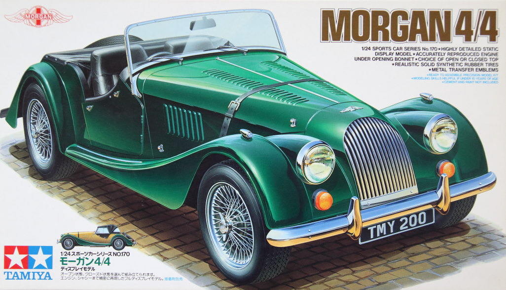 Morgan_4x4_24 Tamiya - Morgan 4/4 - 1/24 --- #24170