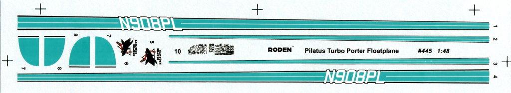 Pilatus_21 Pilatus PC-6 B2/H4 Floatplane - RODEN - 1/48 --- #445