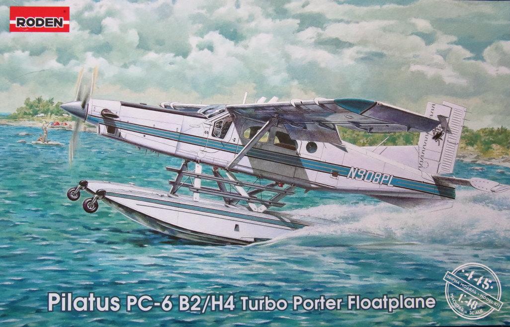 Pilatus_34 Pilatus PC-6 B2/H4 Floatplane - RODEN - 1/48 --- #445