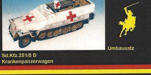 Umbausatz für Sd. Kfz. 251/8 MR Modellbau 35052 1:35