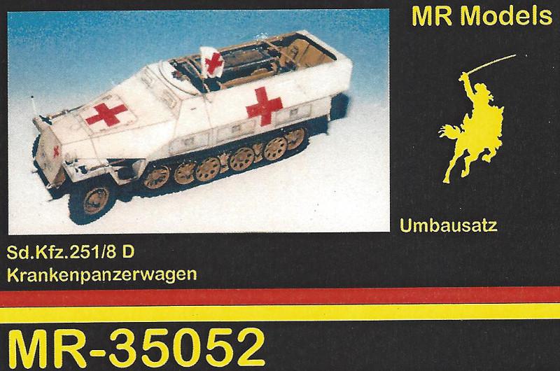 1-800 Umbausatz für Sd. Kfz. 251/8 MR Modellbau 35052 1:35