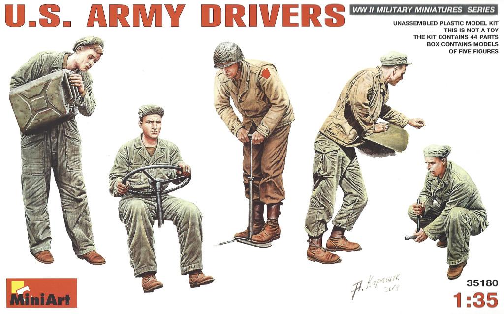 1 U.S. Army Drivers Miniart 35180 1:35