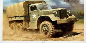 US Diamond T 968A Cargo Truck Hard Top Cab – Mirror Models 35803 1:35