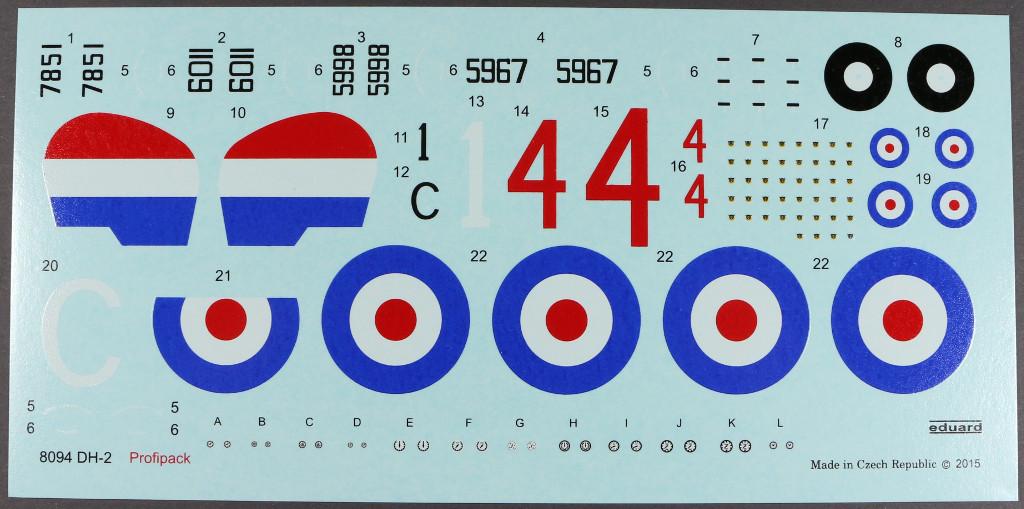221 Eduard DH.2 ProfiPACK 8094 1:48