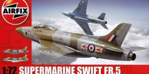 Supermarine Swift von Airfix (1:72)