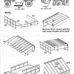 Anleitung14-150x150 US Diamond T 968A Cargo Truck Hard Top Cab - Mirror Models 35803 1:35