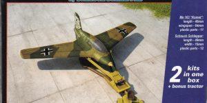 Messerschmitt Me 163 im Maßstab 1:144 (Armory AR 14504)