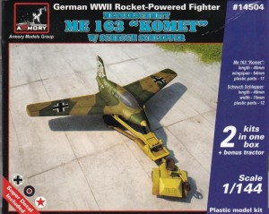 Armory-Me-163-1zu144-5-300x239 Messerschmitt Me 163 im Maßstab 1:144 (Armory AR 14504)