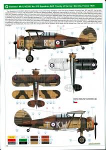 Eduard_Gladiator_27-212x300 Gloster Gladiator - Eduard - 1/48 --- incl. Walkaround!