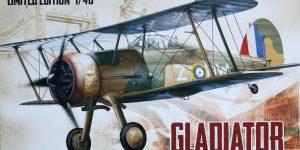 Gloster Gladiator – Eduard – 1/48 — incl. Walkaround!
