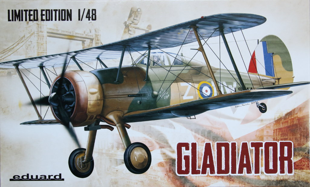 Eduard_Gladiator_31 Gloster Gladiator - Eduard - 1/48 --- incl. Walkaround!