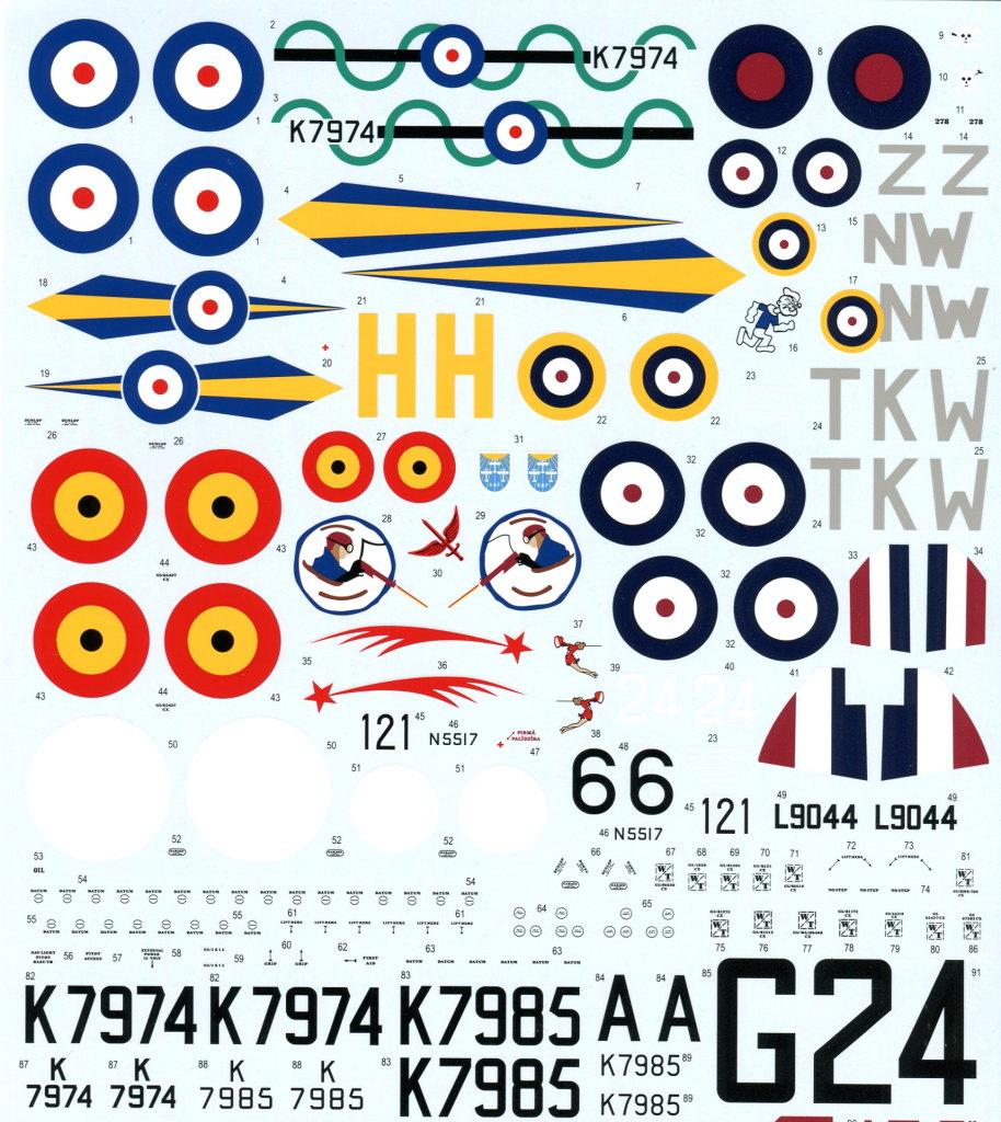 Eduard_Gladiator_47 Gloster Gladiator - Eduard - 1/48 --- incl. Walkaround!
