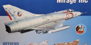 Mirage IIIC – Eduard Weekend Edition – 1/48 — #8496