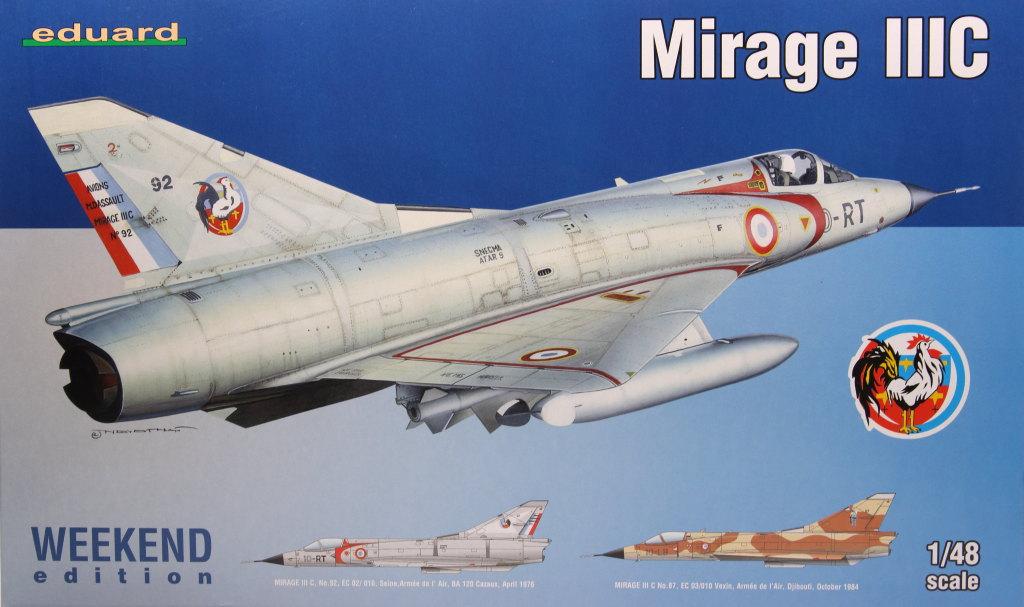 Eduard_MirageIIIC_16 Mirage IIIC - Eduard Weekend Edition - 1/48 --- #8496