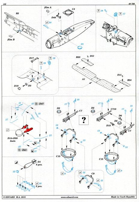Eduard_Revell_Bristol_Upgrade_05 Upgrade Set für Bristol F2B von Revell - Eduard - 1/48 --- #49739