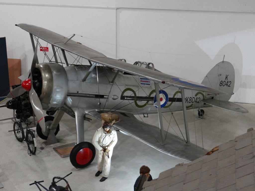 Gladiator_WA_20 Gloster Gladiator - Eduard - 1/48 --- incl. Walkaround!