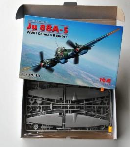 ICM-48232-Ju-88-A-5-10-266x300 Die brandneue Ju 88 A-5 von ICM im Maßstab 1:48