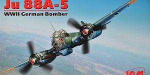 Die brandneue Ju 88 A-5 von ICM im Maßstab 1:48